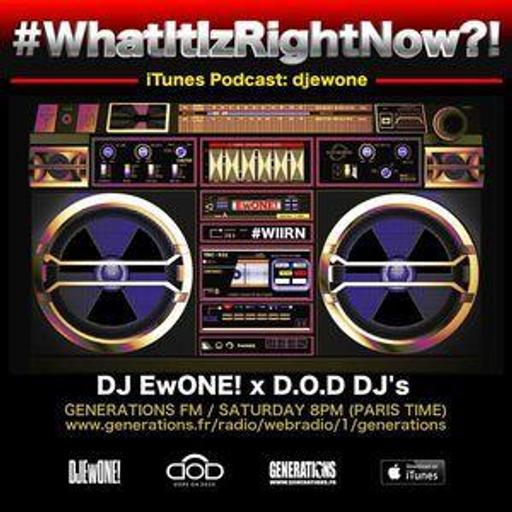 """""""What It Iz Right Now?!"""" Radio Show by @djewone (2021 - 04/24) - D.O.D Guest: DJ Noise (Paris)"""