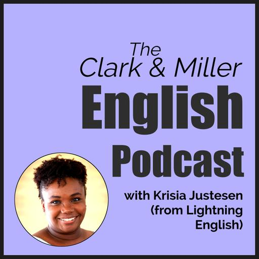 Episode 25 - Actionable English Mindset Advice with Krisia Justesen