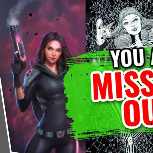 The BEST Indie Comics You Are NOT Reading | Karmen, Nocterra, Red Room & MORE!