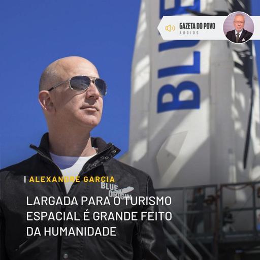 Largada para o turismo espacial é grande feito da humanidade