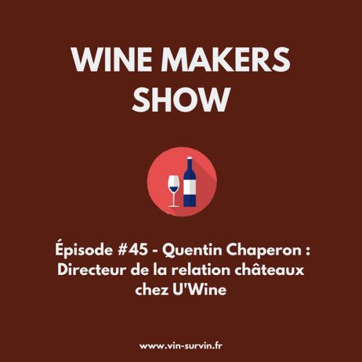 #45 - Quentin Chaperon : Directeur de la relation châteaux chez U'Wine