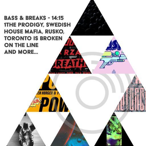 14:15 - The Prodigy x Rene LaVice, Swedish House Mafia, Rusko, Toronto Is Broken on the phone, and more...