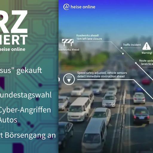 Pegasus, Phishing, vernetzte Autos, Babbel | Kurz informiert vom 07.09.2021 by heise online