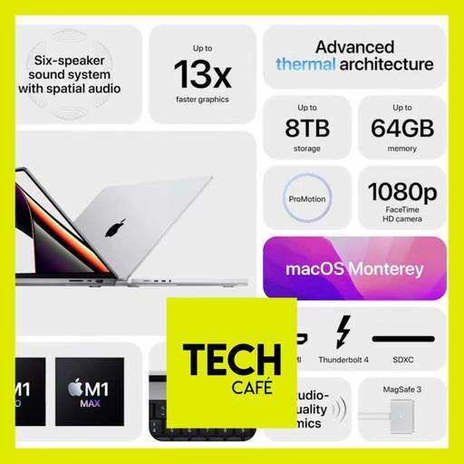 Apple M1Pro/Max • Pixel 6 • Prix nobel contre l'infox