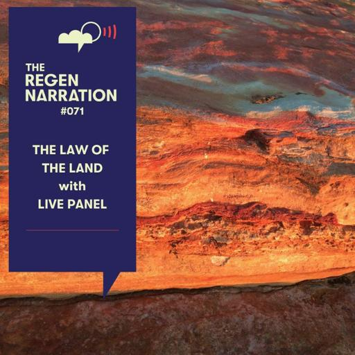 71. The Law Of The Land: Creating a regenerative system of law, with live panel