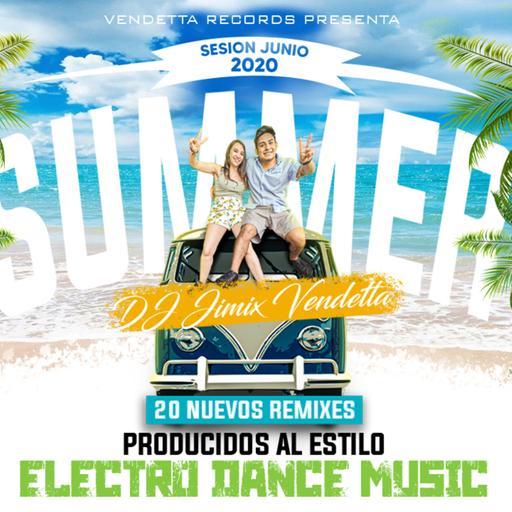 Jimix Vendetta - Sesión Electro Dance Music Mix Reggaeton Junio 2020