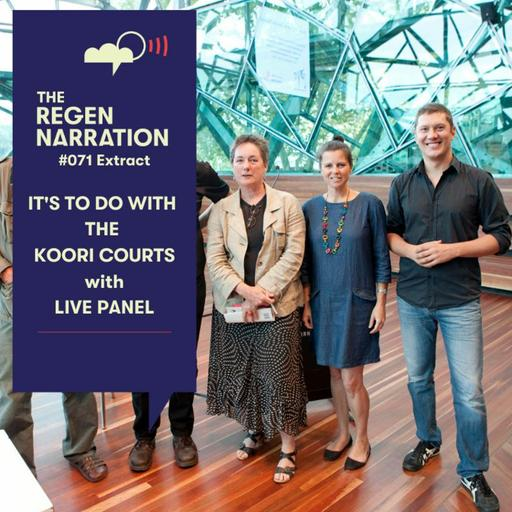 71 Extract. It's to do with the Koori Courts, with live panel