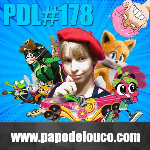 Papo de Louco #178 – Profissão: Dublador (feat. Vii zedek)