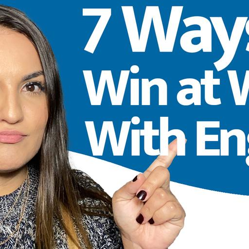 7 Ways to Win at Work With English