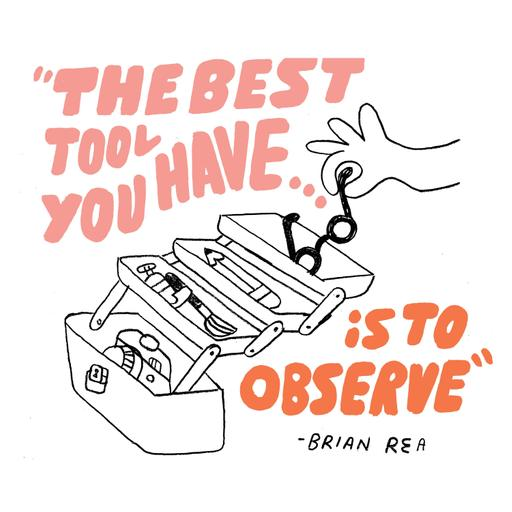 305 - How the Secret to Great Work Starts Before The Creative Process with Brian Rea