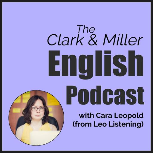 Episode 21 - Watch Movies and Improve Your Listening in English - An Interview with Cara Leopold