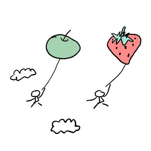 跳一跳摘到的果子