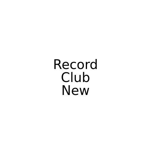 Record Club (new)