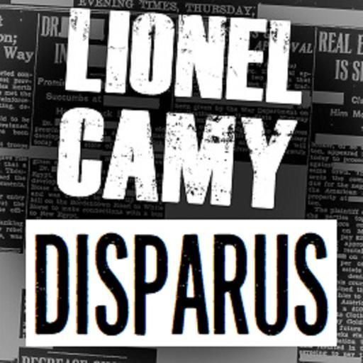 DISPARUS by Lionel Camy