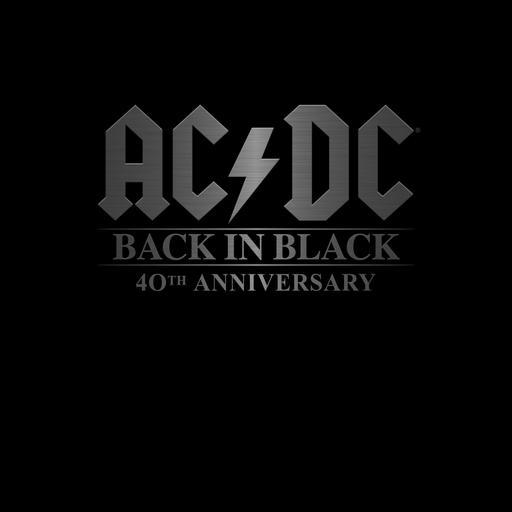 AC/DC - Back in Black 40th anniversary