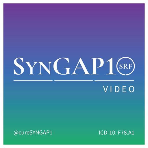 SynGAP10 weekly 10 minute updates on SYNGAP1 (video)