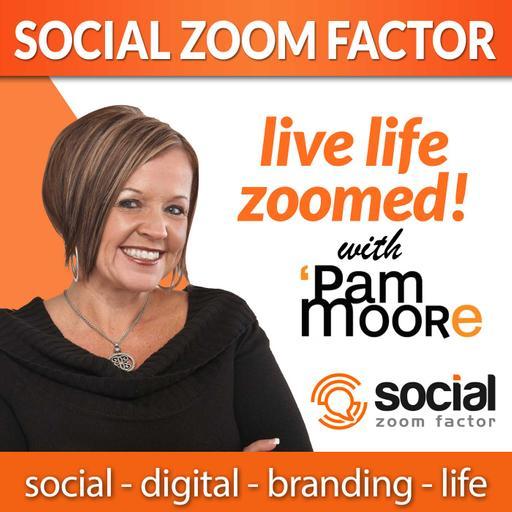 Social Media Zoom Factor with Pam Moore | Social Media Marketing | Branding |Business | Entrepreneur | Small Business | Digital Marketing | Content Marketing | Marketing | Influencer